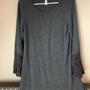 Grey Tacera mini dress